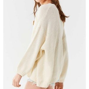 UO knit open cardigan